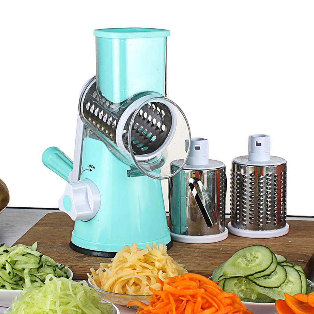 Round Stainless Steel Vegetable Slicer 4