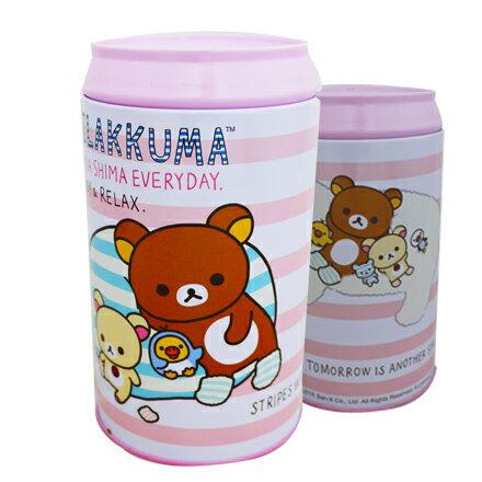 [敵富朗超市]拉拉熊可樂罐存錢筒