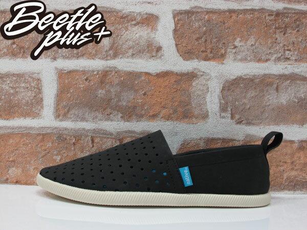 《限時6折免運》BEETLE PLUS NATIVE VENICE JIFFY BLACK 維納斯 黑白 洞洞鞋 休閒鞋 懶人鞋 0