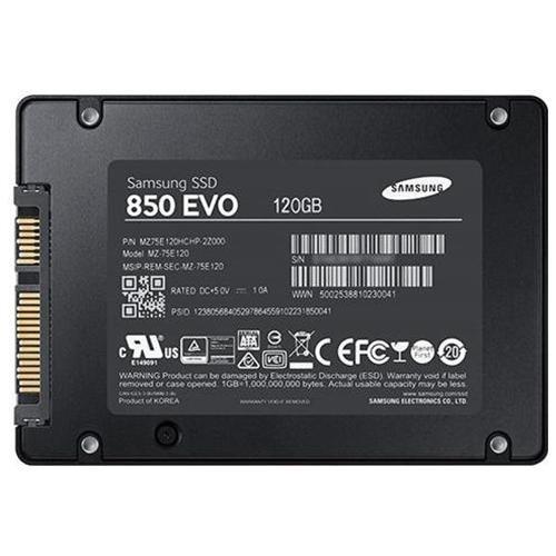 "Samsung SSD 850 EVO 120GB 120G SATA III 2.5"" 3D V-NAND Internal Solid State Drive MZ-75E120B + SSD Case 1"