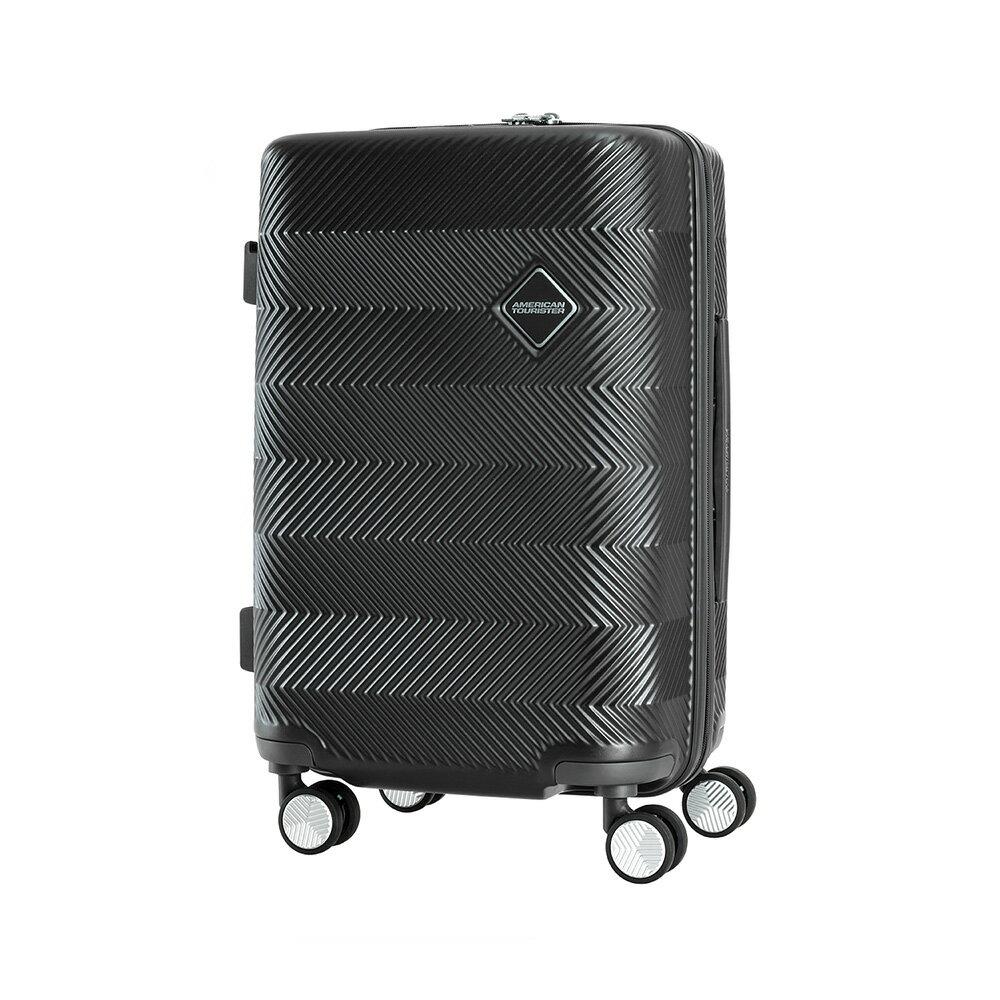 AT美國旅行者 20吋Groovista 霧面耐磨吸震PC硬殼登機箱(黑) 1