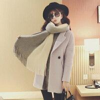 (都有現貨)韓版雙色圍巾。AngelNaNa  超軟舒服 流蘇 女圍巾【SA0004】-AngelNaNa-女裝特惠商品