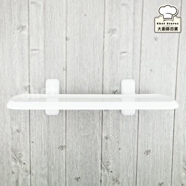 3M無痕浴室層板置物架廁所收納架免鑽牆不殘膠628D-大廚師百貨