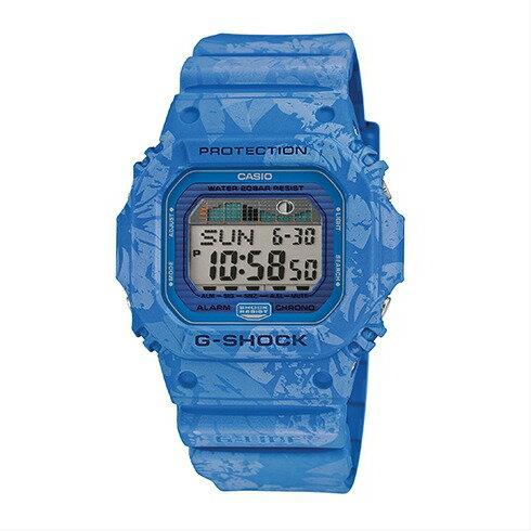 CASIO G-SHOCK GLX-5600F-2質感藍扶桑花腕錶/46*43mm