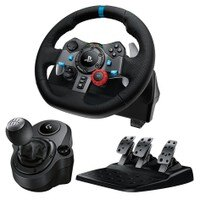 Deals on Logitech G29 Driving Force Race Wheel + Pedals + Shifter Bundle