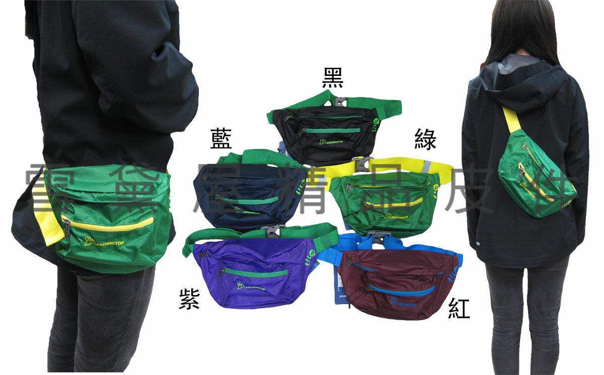 <br/><br/>  ~雪黛屋~MARDINGTOP腰包中容量加強透氣護腰外出休閒運動騎單車高單數防水尼龍布臀包斜背HMPA5987<br/><br/>