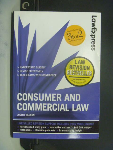 ~書寶 書T4/法律_GGA~Consumer and Commercial Law_Ju