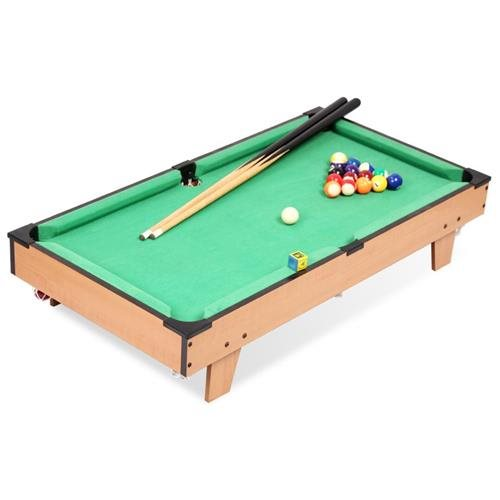 Delicieux Pool Table Mini Tabletop Set Billiard Game Indoor Table Game Compact