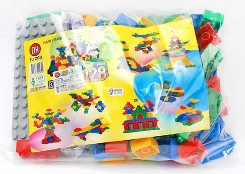 【崑山玩具x日韓精品】台灣OK積木 我高積木 大顆粒積木補充包(約100片)