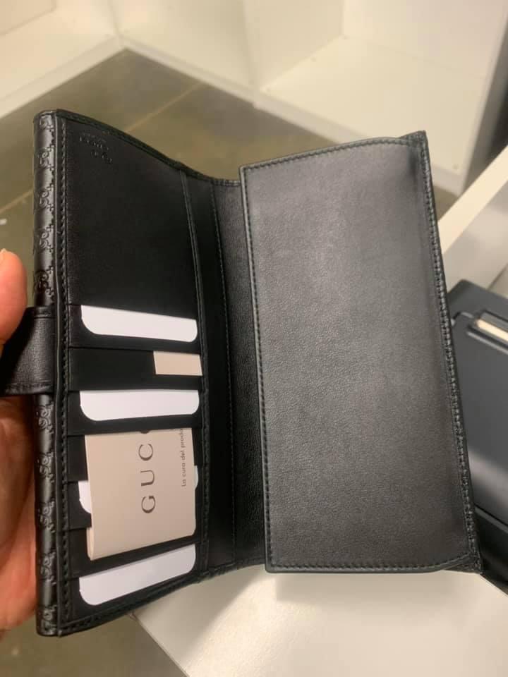 Gucci GUCCISSIMA壓紋LOGO長夾 (現貨+預購) 5