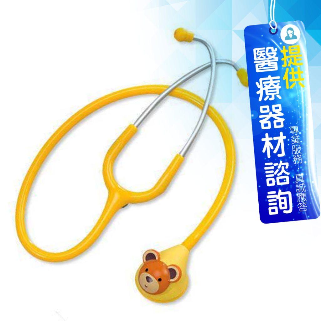 來而康 可愛動物 Spirit 精國聽診器 (未滅菌) CK-F601PF 單面聽診器