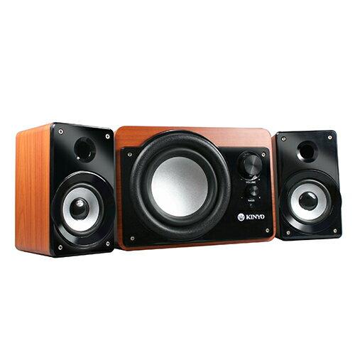 KINYO KY-7360典藏全木質超重低音喇叭【愛買】