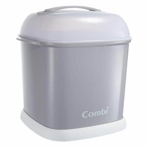 康貝Combi PRO 高效消毒烘乾鍋專用奶瓶保管箱-寧靜灰★衛立兒生活館★