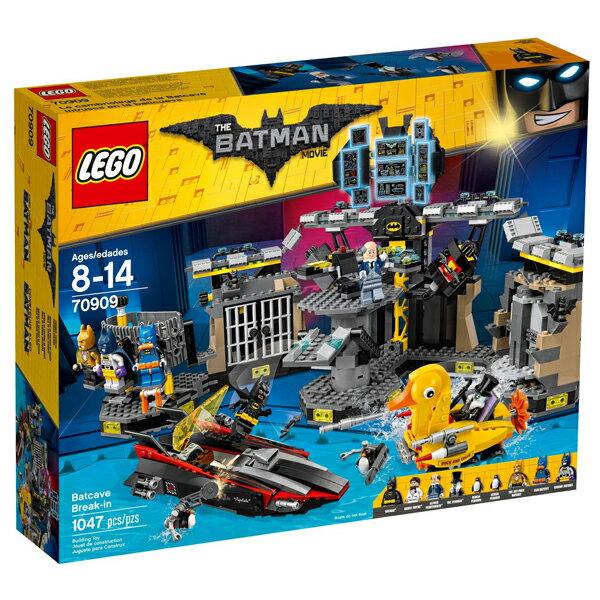 【LEGO 樂高積木】 Batman Movie 蝙蝠俠電影系列-突擊蝙蝠洞 LT-70909