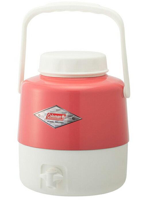 【鄉野情戶外專業】 Coleman |美國| 4.9L 經典復古飲料桶/冰桶 保鮮桶 保冰箱-草莓紅/CM-27866M000