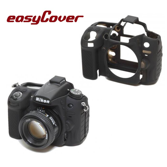 ~相機 ~ easyCover 金鐘套 Nikon D7000  果凍 矽膠 防塵 保護套
