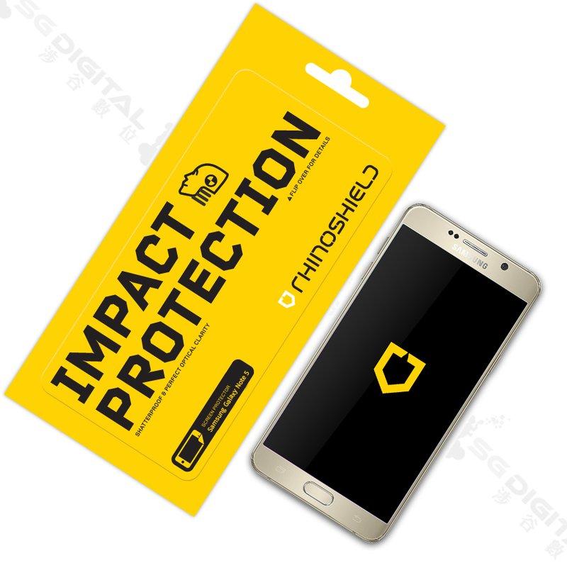~斯瑪鋒數位~RHINO SHIELD犀牛盾 Samsung GALAXY Note 5 正面 衝擊螢幕保護膜 Evolutive