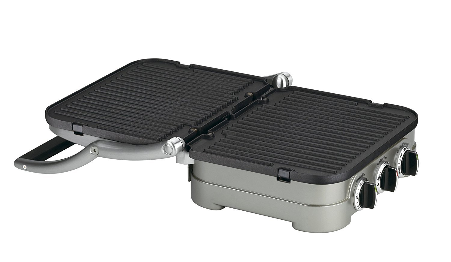 Cuisinart GR-4N 5-in-1 Griddler W/ Waffle Plates (Certified Refurbished) 3