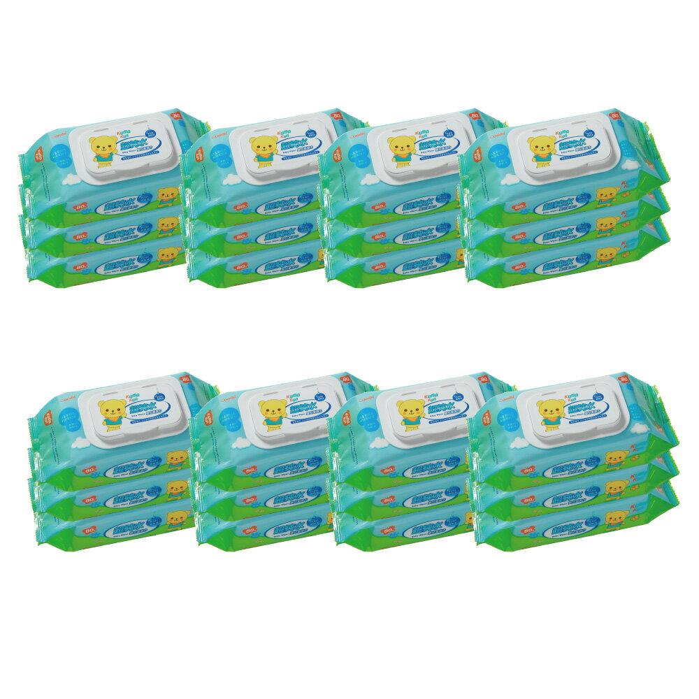 【箱購】Combi 超純水濕紙巾80抽x24包入