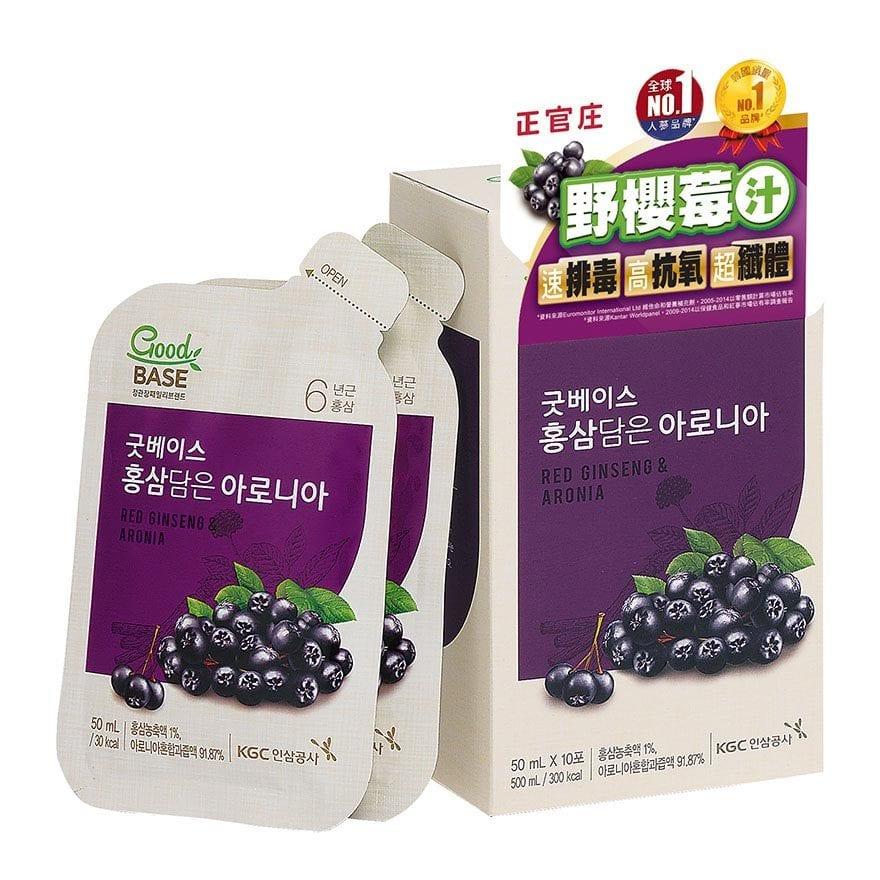 【正官庄】高麗蔘野櫻莓飲50ml 零添加 真材實料 好口感 高品質原裝進口 4 / 10左右出貨 2