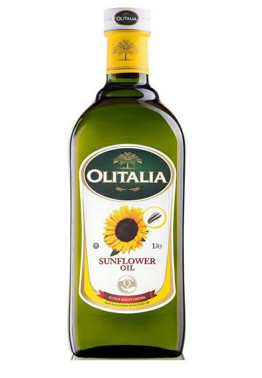 Olitalia奧利塔 葵花油 1000ml/瓶 限時特惠