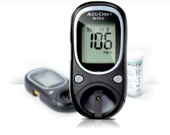 ACCU-CHEK 羅氏 ACTIVE 活力血糖機組