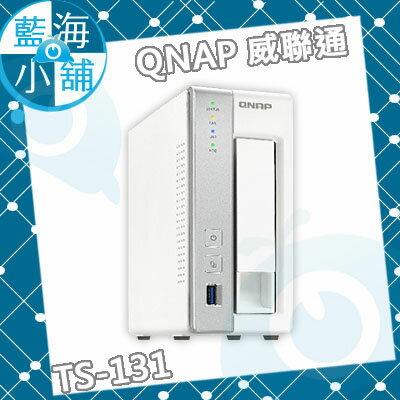QNAP 威聯通 TS-131 2Bay NAS 網路儲存伺服器