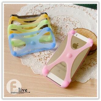 【aife life】果凍矽膠手機背套/手機邊框/止滑/手機保護套/手機殼/手機套/iphone5 6 plus