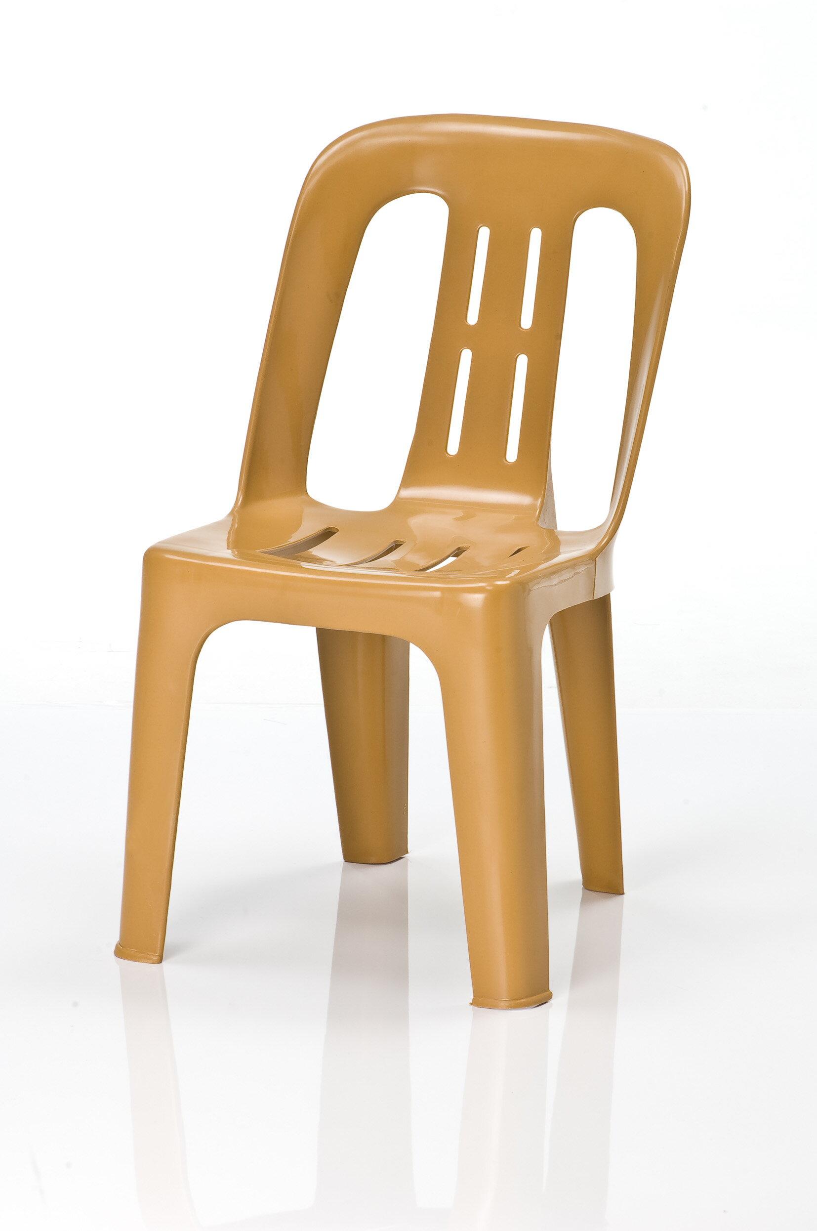 【MK KID CHAIR 4入一組】精巧實用塑膠座椅/附椅背板凳/舒適椅背/符合人體工學椅座/僅此一檔賣完為止★★