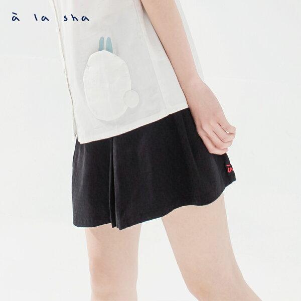 àlashaQummi猴子躲貓貓打褶短裙