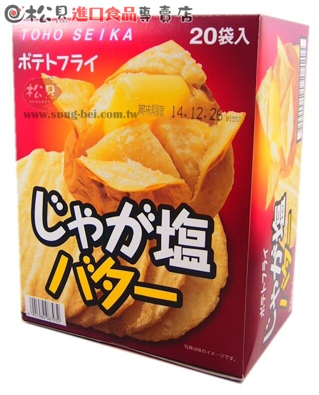 東豐馬鈴薯洋芋片盒20袋220g【4901984088281】