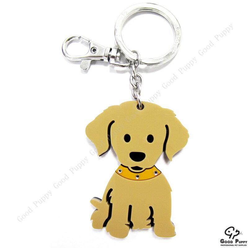 加拿大進口狗狗寵物鑰匙圈-黃金獵犬92668 Golden Retriever* 吊飾/鑰匙扣/鑰匙圈/小禮物/贈品