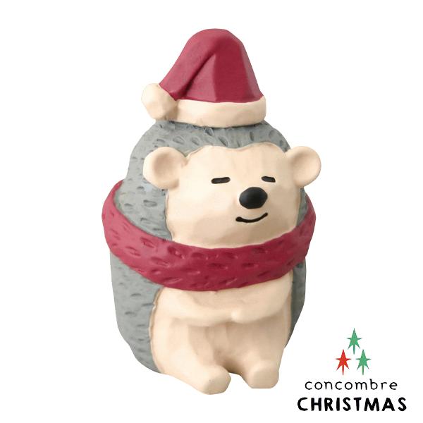 【聖誕節限定版】Decole 日本擺飾小玩偶 / 公仔 -  Concombre 貪睡的刺蝟 ( ZXS-48146 ) 現貨