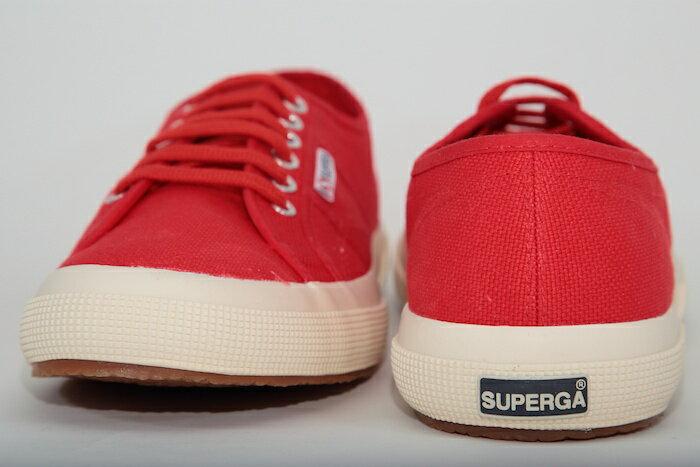 【SUPERGA】義大利國民鞋-紅  Cotu - Classic2750 4