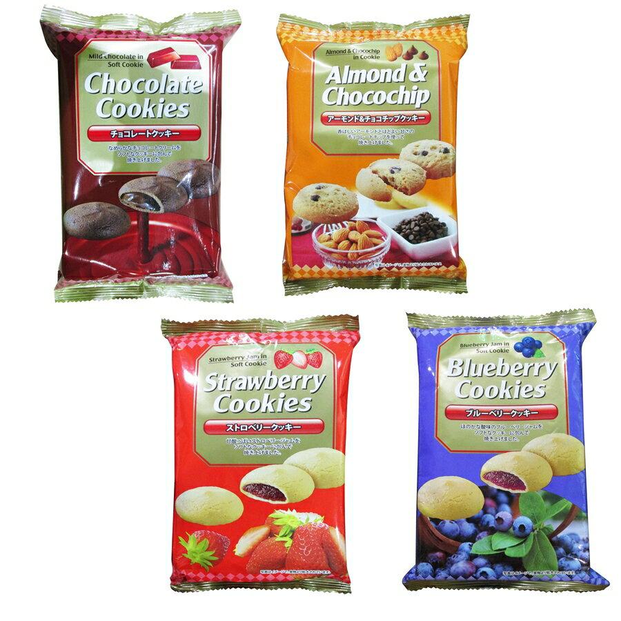 馬來西亞 真美味 風味夾心餅乾 巧克力 草莓 藍莓 杏仁可可 100g [928福利社]全館399超取免運