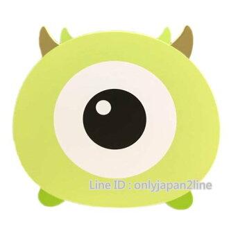【真愛日本】16112600008TSUMTSUM木頭筆筒-大眼仔  迪士尼 怪獸電力公司 怪獸大學  筆筒 收納盒 文具