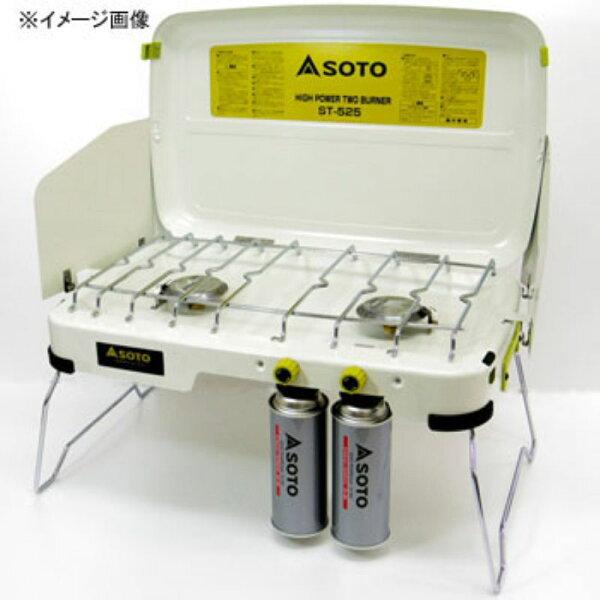 露營趣:【露營趣】中和送手電筒鉤環日本SOTOST-525尊爵特仕版白雙爐卡式瓦斯爐雙口爐卡式爐送ST-553導熱棒