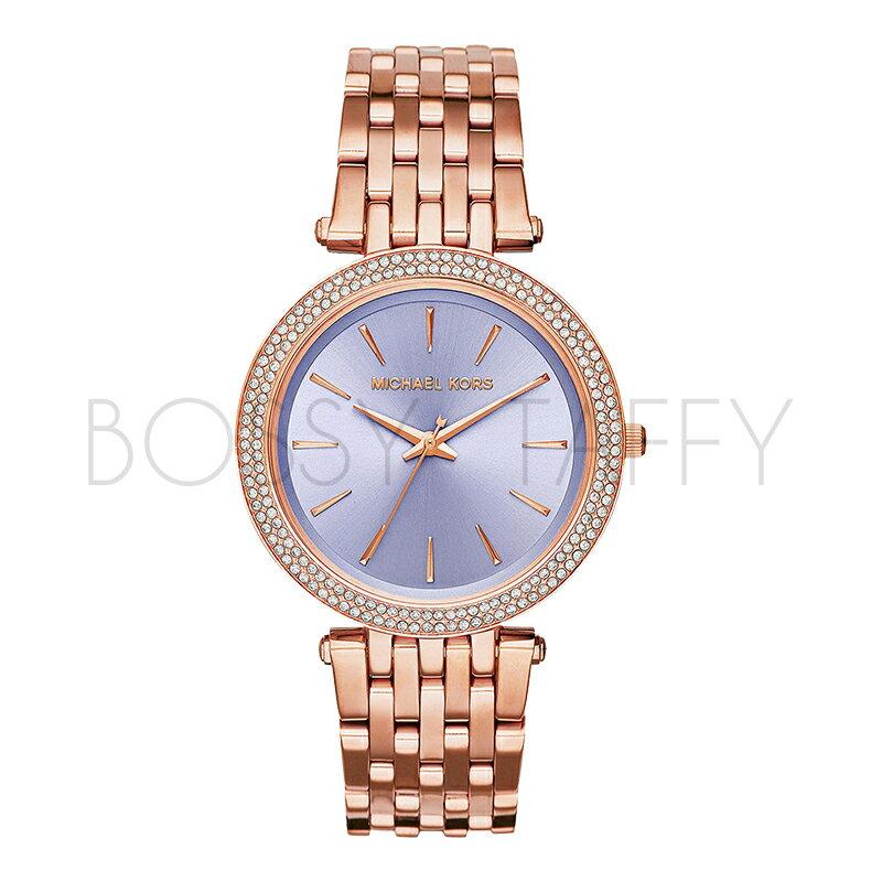 MK3400 MICHAEL KORS  時尚鑲鉆錶盤不銹鋼錶帶石英錶 女錶