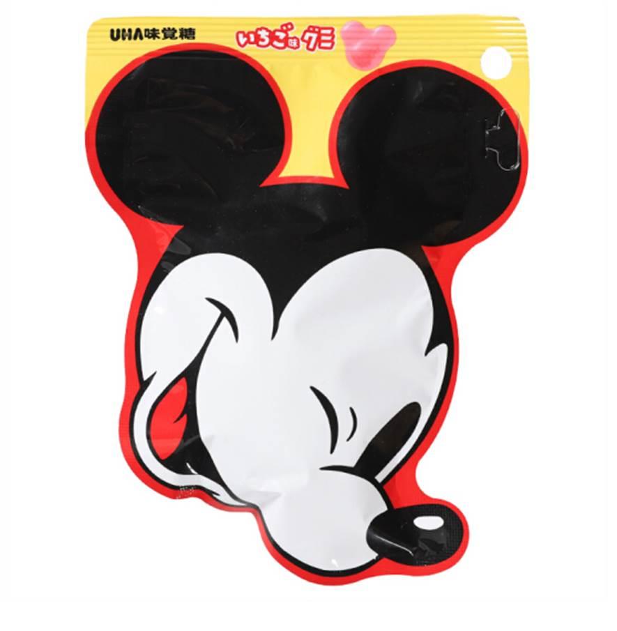 【UHA味覺】Disney米奇造型草莓軟糖 30g ディズニーグミ 日本進口糖果 3.18-4 / 7店休 暫停出貨 1