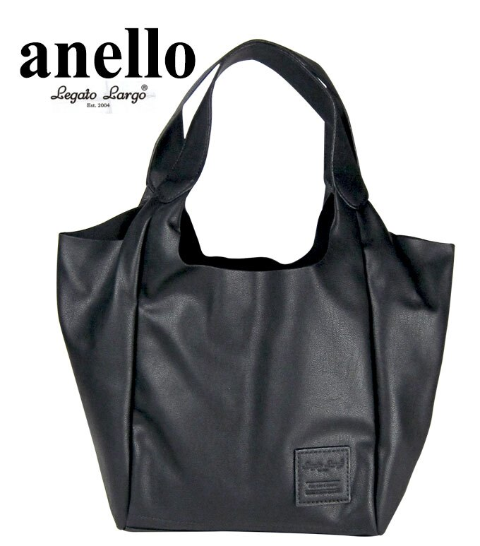 日本 anello 輕量皮革休閒包(黑) LU-F1112 【momi宅便舖】