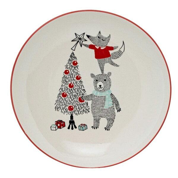 北歐丹麥熊熊與狐狸派對圓盤