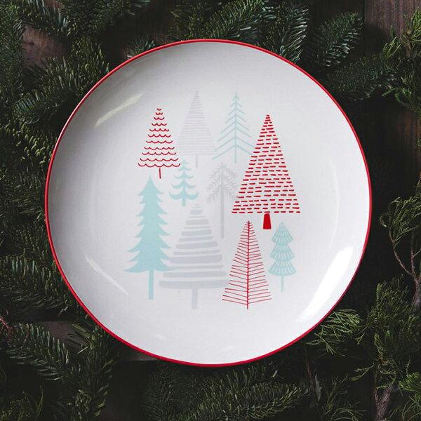 北歐丹麥彩色森林圓盤