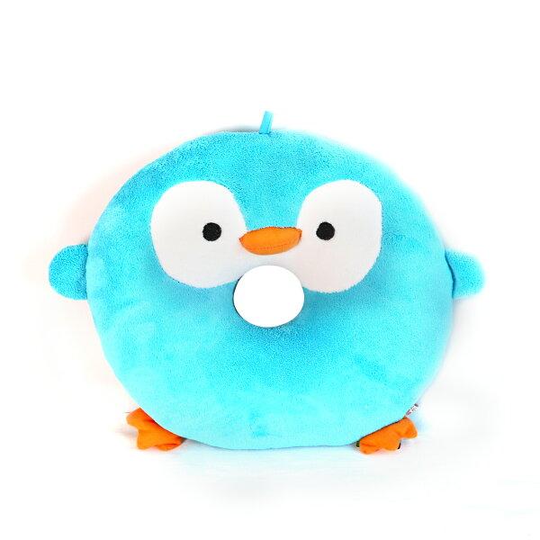 喜鵲先生1號店:天空藍企鵝座墊