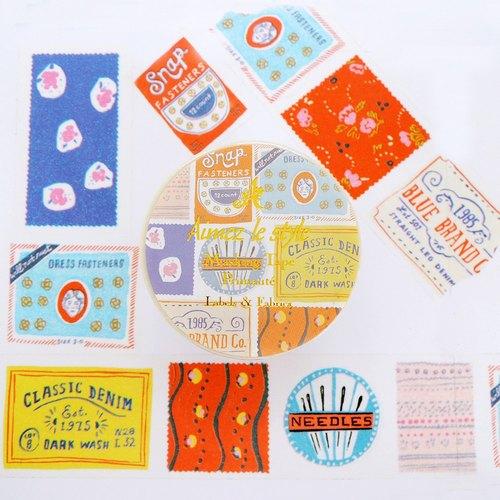 紙膠帶-織物標籤
