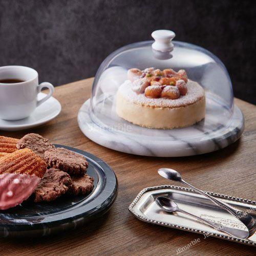 喜鵲先生1號店:大理石迷你保鮮盤蛋糕盤乳酪盤