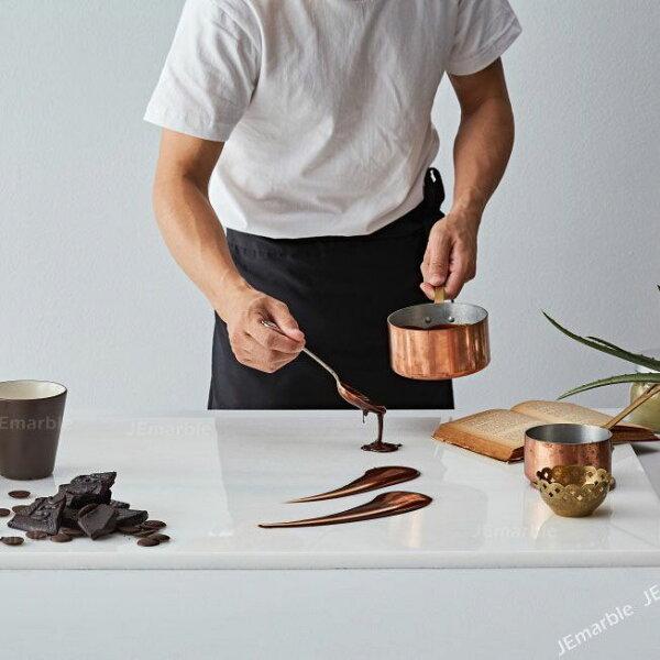 喜鵲先生1號店:天然大理石料理板【60x100公分(超大尺寸)】揉麵墊止滑不沾黏烘焙工具巧克力調溫MIT花蓮製