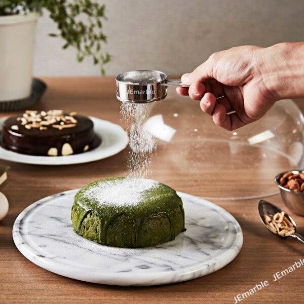 喜鵲先生1號店:天然大理石28cm保鮮盤《溝盤款》MIT花蓮製