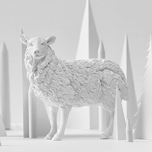 喜鵲先生1號店:綿羊紙鎮
