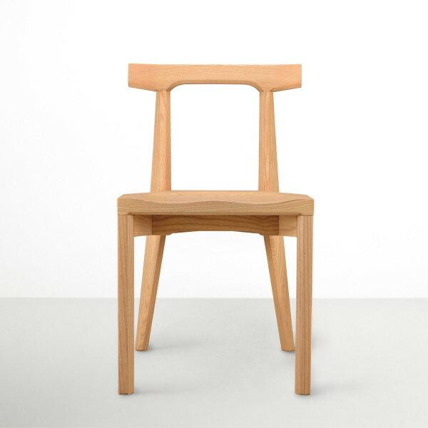 喜鵲先生1號店:ANGLE安革餐椅(自然色)
