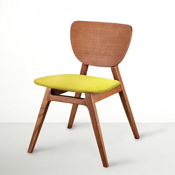 喜鵲先生1號店:FITL斐特餐椅皮革版(肉桂色)